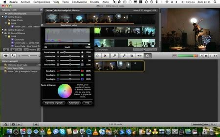 tutorial imovie mac pdf tutorial correzione colore in imovie 08 the apple lounge