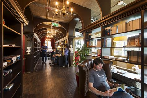 design house concepts dublin as 237 son las bibliotecas de las oficinas de google en
