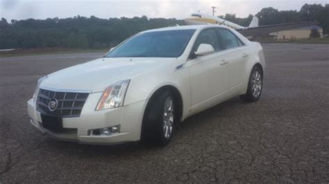 Cadillac Cts Warranty by Find Used 2009 Cadillac Cts Premium Edition White
