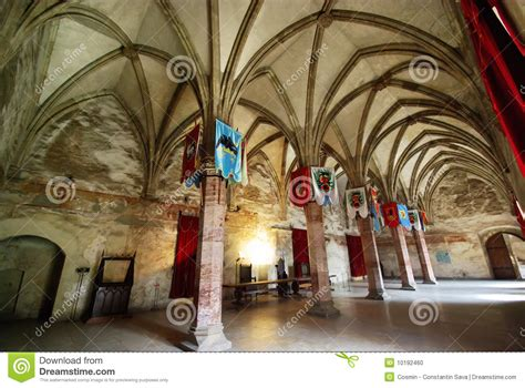 medieval hall stock photo image  attractions castles