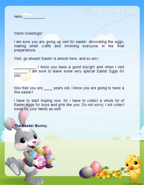 letter to easter bunny template letters from the easter bunny best template collection