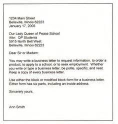 Business Letter Which Address Comes First 1000 Images About Business Letter On Pinterest Senior Management Business Letter And A Letter