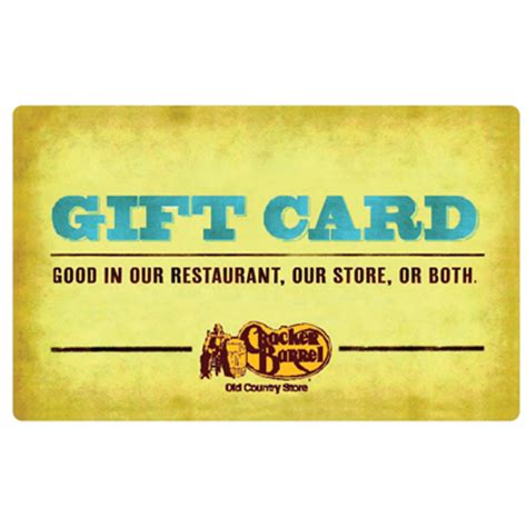 Cracker Barrel Gift Cards - navyarmy ccu rewards