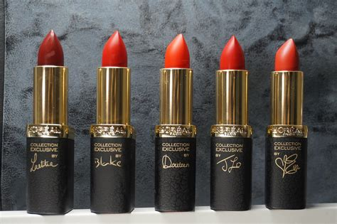 L Oreal Collection Reds l oreal reds collection with lelo