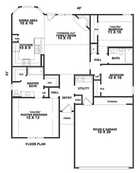 1300 square foot house 1360 square foot house plan chp 22689 at coolhouseplans