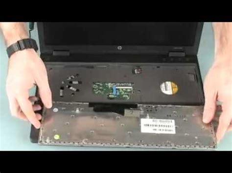 hp probook 6560b replacing the keyboard youtube