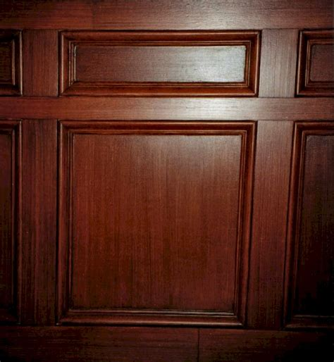 Mahogany Wainscoting Panels by Bar On