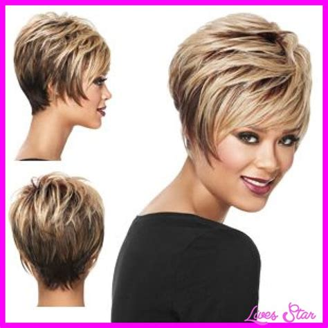 stacked short hair cuts front and back view stacked short hair cuts front and back view very short