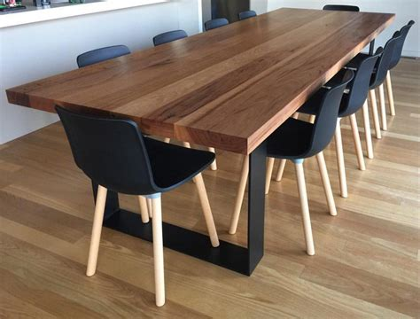 furniture dining tables recycled messmate dining table lumber furniture