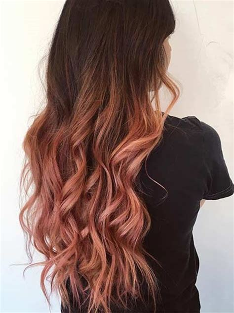 diy rose gold hair for brunettes 51 stunning rose gold hair to steal the show style easily