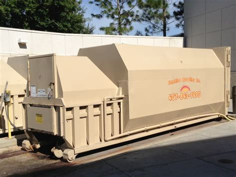 How Does A Commercial Trash Compactor Work | trash compactors compactors and balers garbage compactor