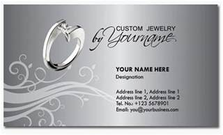 jewelry business cards templates free 30 elegantly designed free business card templates