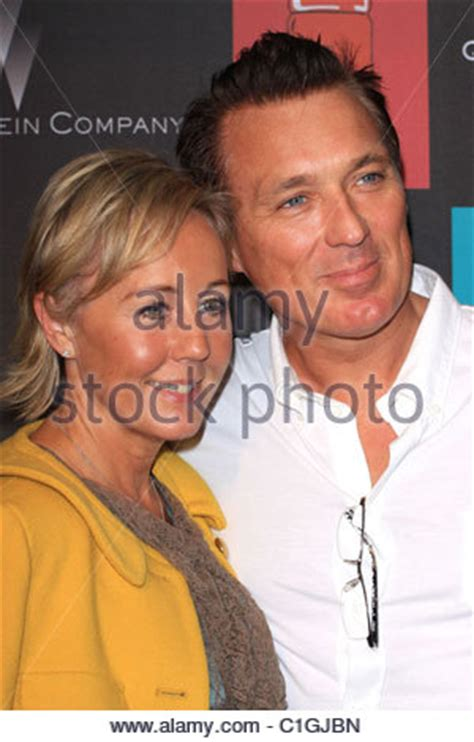 martin kemp and wife shirlie holliman attending the pride