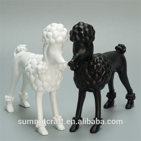 Welcome Resin Poodle Kode Ss9338 custom resin standing poodle statue display mannequin buy display mannequin poodle