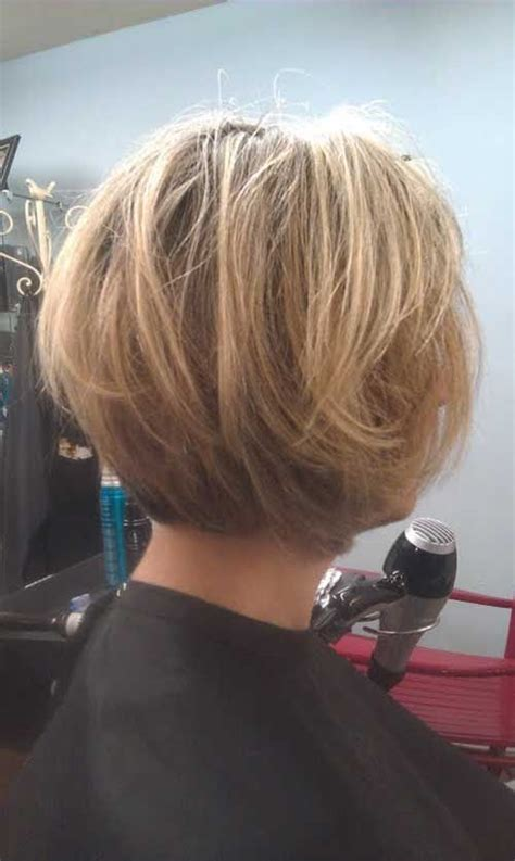 hairstyles back view only 15 layered bob back view bob hairstyles 2015 short