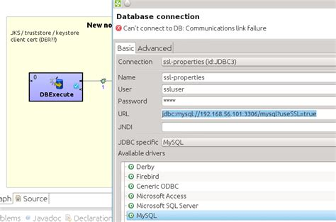 mysql date format validation clo 5908 validate connection button doesn t work with