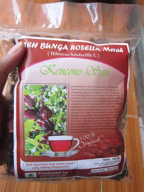 Teh Bunga Rosella Merah teh bunga rosella merah alzafa store