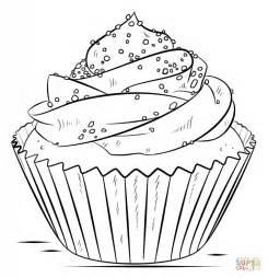 cupcake coloré disegno di cupcake da colorare disegni da colorare e