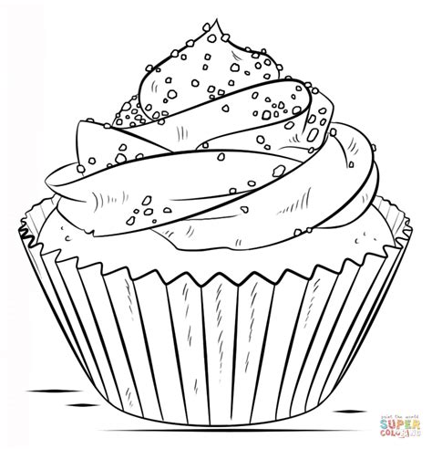 cupcake coloring pages cupcake coloring page free printable coloring pages