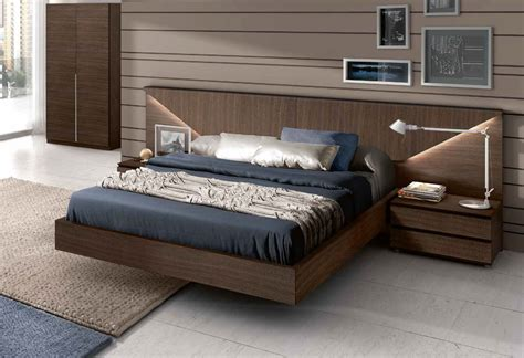 Made In Spain Wood Modern Platform Bed Indianapolis Bed Frames Indianapolis