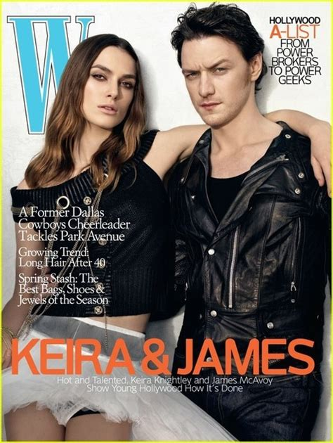 james mcavoy keira knightley interview 2012年03月20日 lea michele magazine shoot