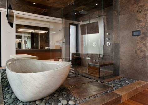 Unique Bathroom Designs by 20 Brown Bathroom Designs Decorating Ideas Design