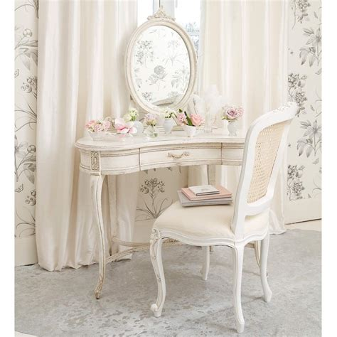 shabby chic table delphine shabby chic dressing table bedroom company