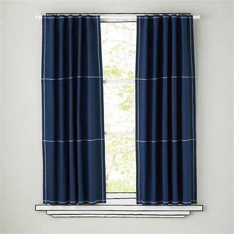 canvas curtain panels blue gingham curtains images