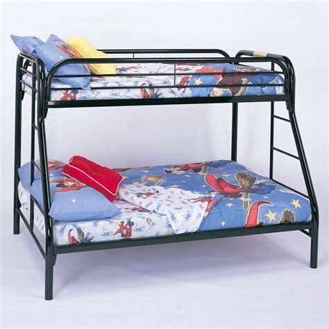 twin over full metal bunk bed the coaster bunk beds are great space savers for your kids