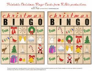Top 10 free christmas bingo