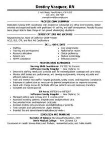 Sle Resume For Nurses With Experience by 2016 Patient Care Coordinator Resume Sle