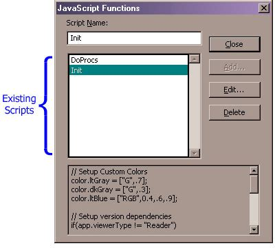 javascript tutorial doc figure 1 editing and creating document scripts