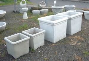 pots pottery and planters concrete decorative pots