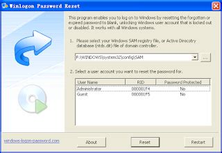 windows login password resetter boot disk download windows login password resetter boot disk free software