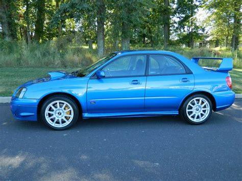 buy used 2005 subaru impreza wrx sti sedan 4 door 2 5l in
