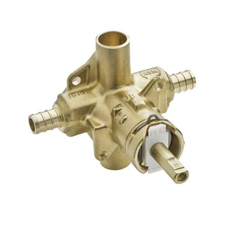 Shower Valve by Moen Brass In Posi Temp Tub And Shower Valve 1 2