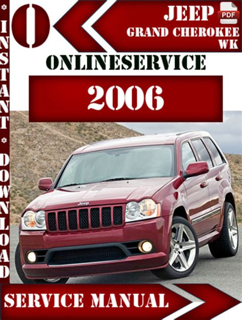 free auto repair manuals 2006 jeep commander user handbook service manual service manual 2006 jeep grand jeep xk 2006 2010 commander factory service