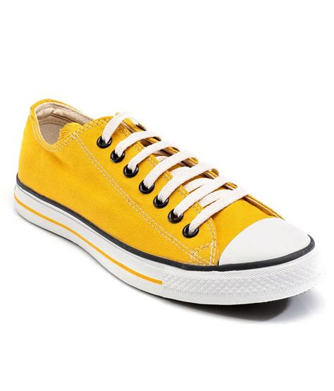 S Casual Shoes Yellow converse yellow casual shoes price in india buy converse