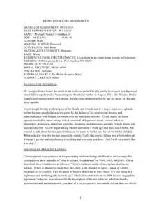 Biopsychosocial Assessment Template by Doc 580630 Biopsychosocial Assessment Template Sle