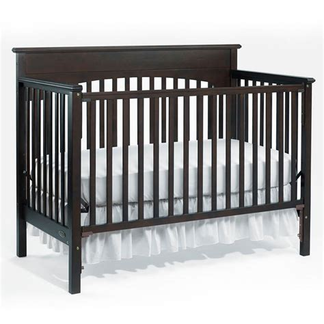 graco stanton convertible crib black graco stanton convertible crib black graco stanton 4 in