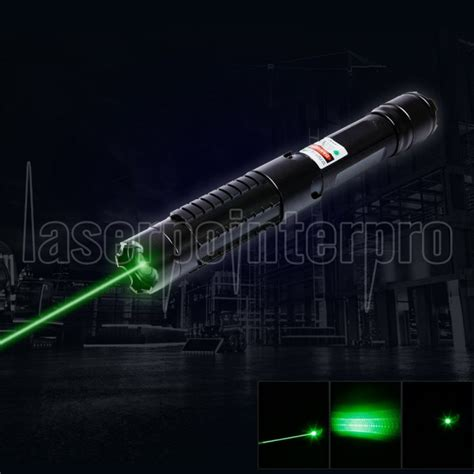 Green Laser Pointer Limited 5 in 1 5000mw 532nm beam light green laser pointer pen kit black laserpointerpro