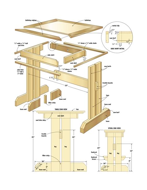 woodworking blueprints pdf diy woodworking plans breakfast nook
