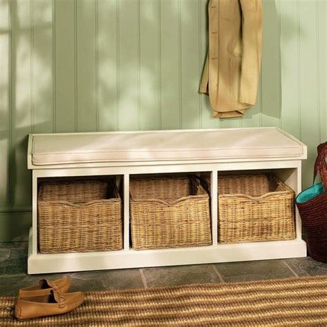 tetbury hallway bench our tetbury white hall storage bench making an entrance pinterest