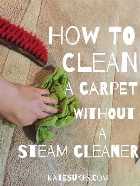 how to clean a rug without a steam cleaner how to naturally clean a carpet without a steam cleaner katesurfs