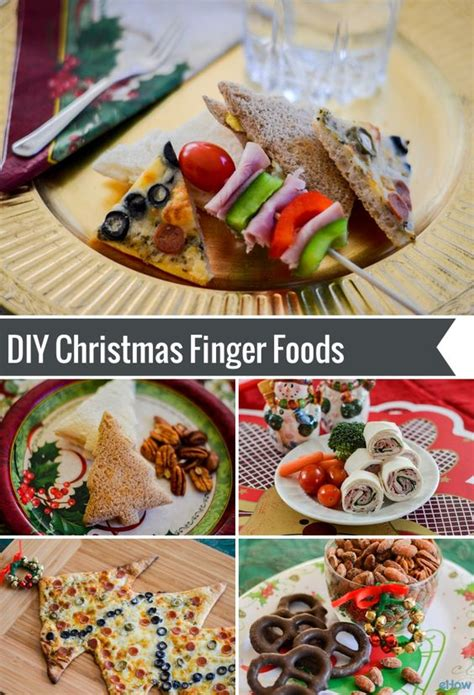 christmas finger foods holiday parties and fingers on