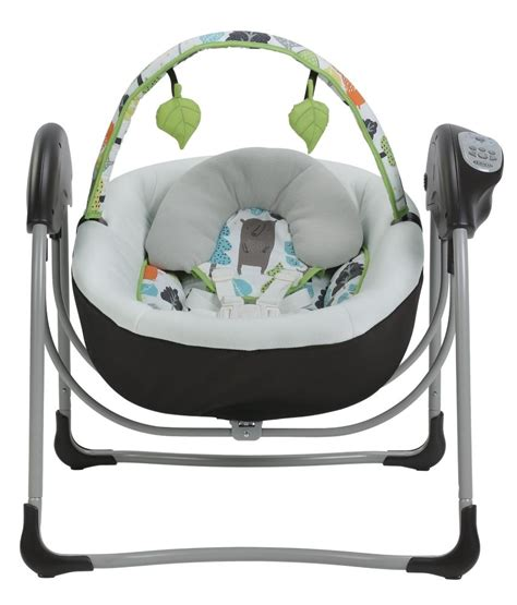 graco swing glider com graco glider lite baby swing bear trail baby