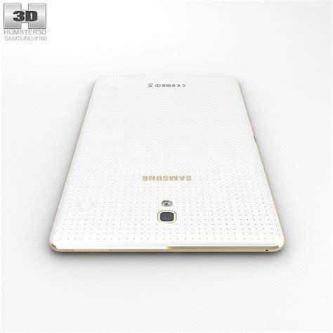 Samsung Tab 4 8 Inch Second samsung galaxy tab s 8 4 inch dazzling white 3d model hum3d