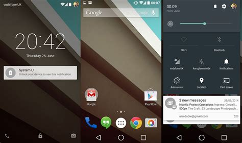 android screen in pictures android l android central