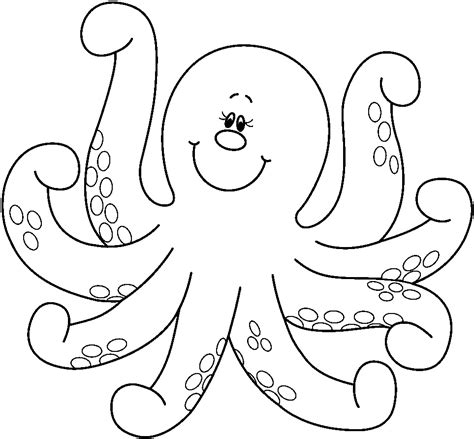 Free Printable Octopus Coloring Pages For Kids Animal Place Coloring Page Of A