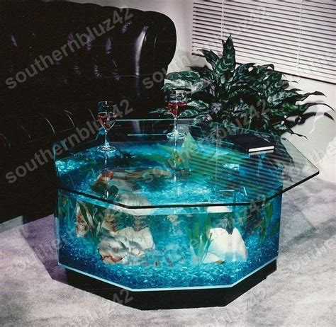 midwest tropical 25 gallon aqua coffee table aquarium tank octagon coffee table aquarium 40 gallon 38 quot complete